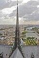 Spire of Notre-Dame de Paris, September 2013.jpg
