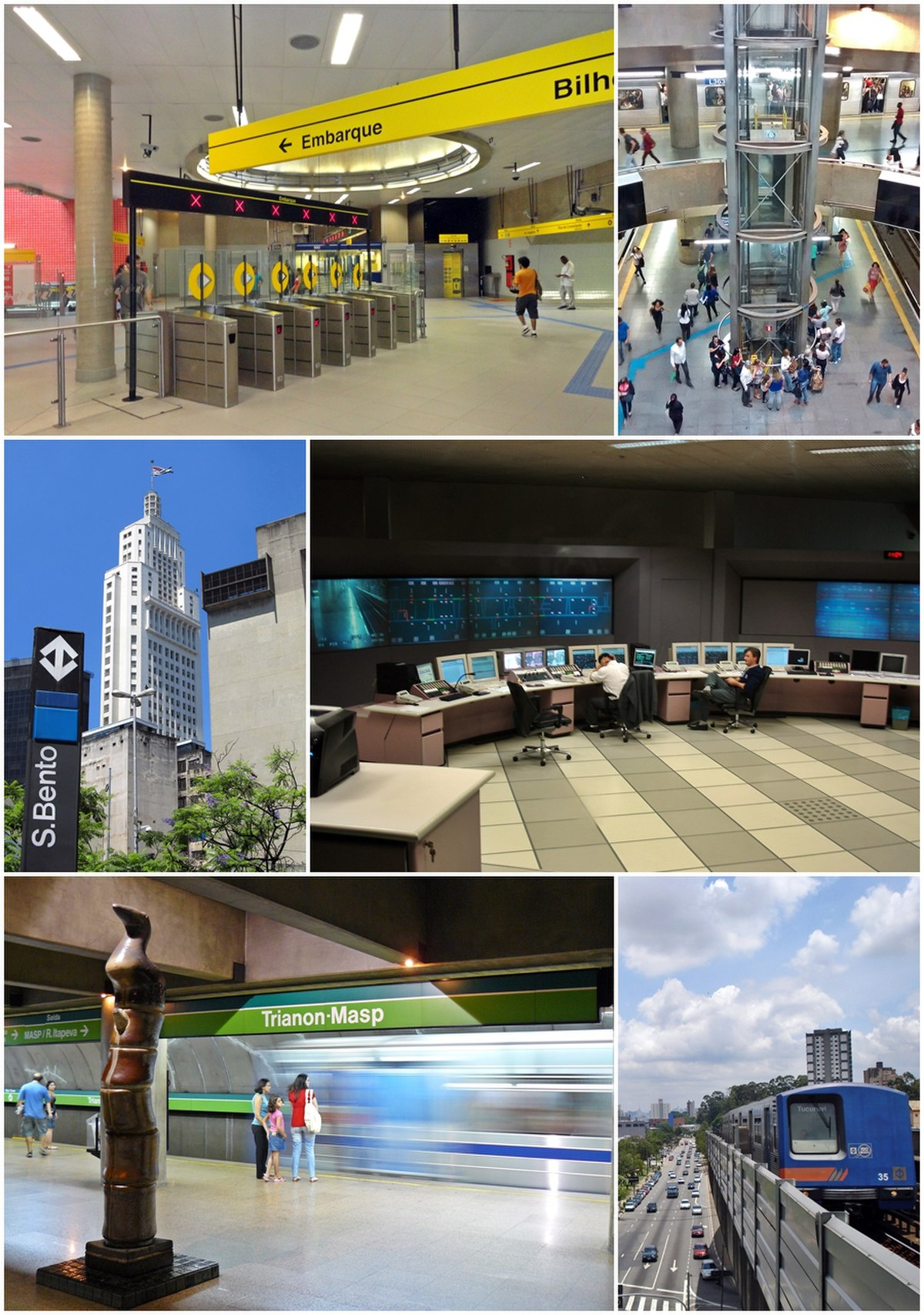 Metro de São Paulo - Wikipedia, la enciclopedia libre