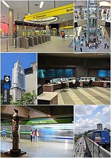 rapid transit system of Sao Paulo, Brazil