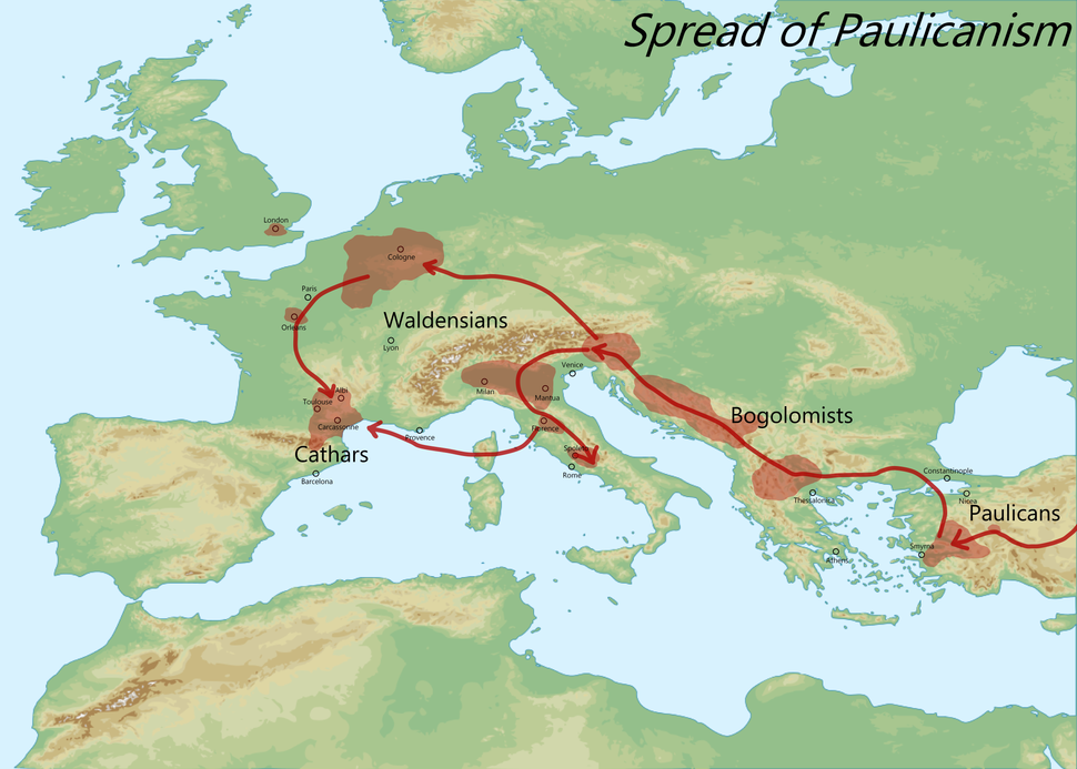 Spread of Paulicanism