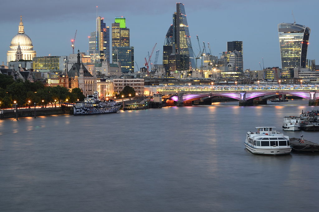 Square Mile from Waterloo Bridge (14810528494)