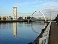 Squinty Bridge over the Clyde - geograph.org.uk - 205686.jpg