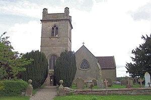 Moreton Corbet - Image: St. Bartholomew, Moreton Corbet geograph.org.uk 120230