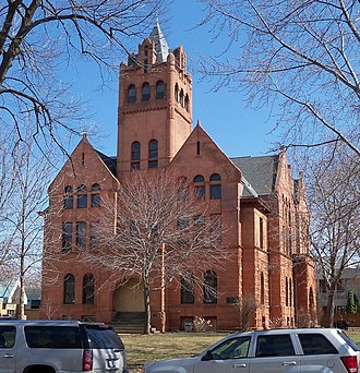 St. Croix County, Wisconsin - Image: St. Croix County Courthouse 1