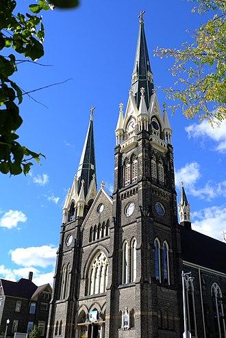 Saint John's Evangelical Lutheran Church (Milwaukee, Wisconsin) - Image: St. John's Evangelical Lutheran Church, Milwaukee, Wisconsin, Exterior