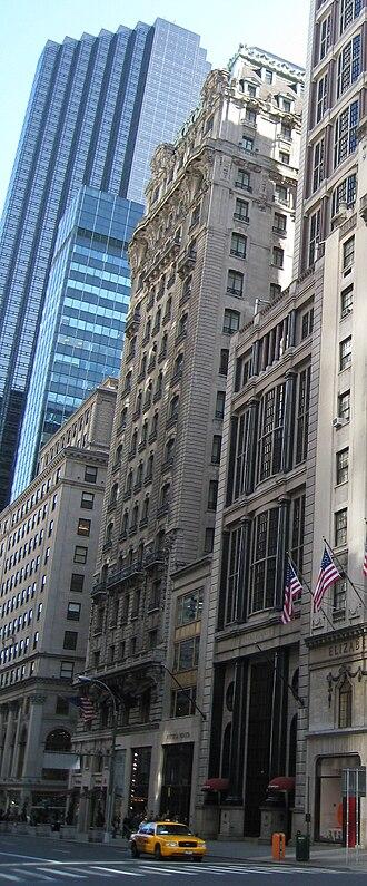 St. Regis New York - Image: St. Regis Hotel, Manhattan, New York City