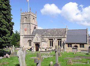 Bathampton - Image: St.nicholas.church.a t.bathampton.arp