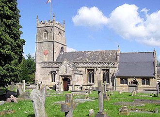 Bath and North East Somerset - Image: St.nicholas.church.a t.bathampton.arp