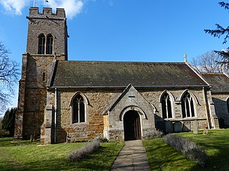 Stoke Albany - Image: St Botolph Church in Stoke Albany (geograph 3422654)