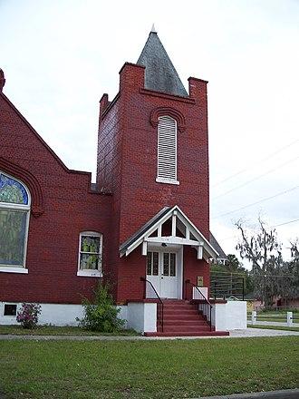St. James A. M. E. Church (Sanford, Florida) - Image: St James AME Church in Sanford 2