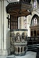 St James the Less, Sussex Gardens, London W2 - Pulpit - geograph.org.uk - 1692380.jpg
