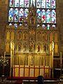 St Mary's Church, Nottingham - Reredos.JPG