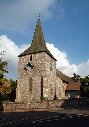St Mary's Church, Downe - Image: St Mary the Virgin, Downe BR6 geograph.org.uk 68648