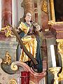 St Petrus und Paulu Bellenberg - Apostelzyklus Jakobus der Jüngere am Hochaltar.JPG