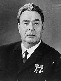 Leonid Brezhnev General Secretary of the Communist Party of the Soviet Union, 1964–1982