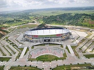 Indonesia 2022 FIFA World Cup bid - Image: Stadion Utama Palaran Kaltim