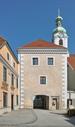 Stadttor Neunkirchen Lower Austria from SW on 2013-03-17.png