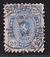 Stamp of Finland - 1875 - Colnect 586534 - Coat of Arms m 75 - Four figured Issue.jpeg