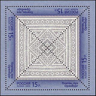 Orenburg shawl