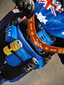 Star Wars Celebration V - Australian Vader costume (closeup - boomerang and beer) (4941004636).jpg