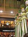 Starbucks in Sendai & the decorations of Sendai Star Festival.JPG