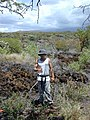 Starr-030424-0065-Amaranthus hybridus-first planting with Jeremy-Puu o Kali-Maui (24263595309).jpg