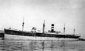 Harrison Line - Image: State Lib Qld 1 142791 Defender (ship)