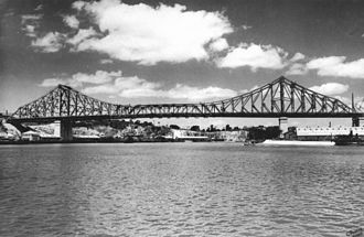 Evans Deakin and Company - Brisbane's Story Bridge in 1940, this 281 metre cantilever truss bridge was constructed by Evans Deakin - Hornibrook Pty Ltd
