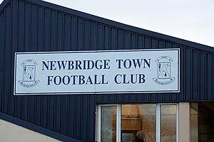 Station Road, Newbridge - Image: Station Rd Newbridge