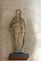 Statua in pietra bigia o pietraforte, provenienti dalle colonne di sostegno delle trifore all'esterno.jpg