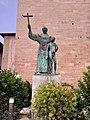 Statue de Junípero Serra au couvent Saint François de Palma.jpg