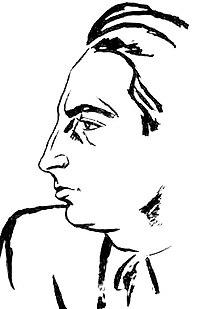 Stefan Dimitrescu - Portretul lui George Calinescu.jpg