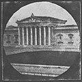 Steinheil und Kobell - Die Glyptothek, noch ohne die Statuen von Prometheus, Perikles, Hadrian und Phidias (Zeno Fotografie).jpg