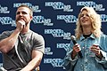 Stephen Amell and Emily Bett Rickards HVFFLondon2017Amell-ALS-7 (35313411805).jpg