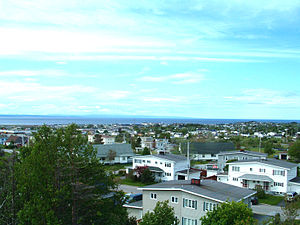 Stephenville, Newfoundland and Labrador - Overlooking the town of Stephenville