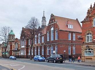 Stepney, Kingston upon Hull - Stepney School, built 1886 for the Hull School Board (2013)