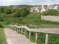 Steps down to the Royal Military Canal - geograph.org.uk - 451816.jpg