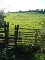 Stile in silhouette - geograph.org.uk - 1451121.jpg