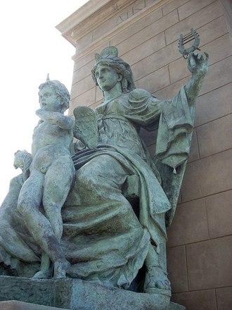"""Millennium Gate Museum - Alexander Stoddart's """"Justice"""""""