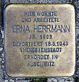 Stolperstein Brunnenstr 41 (Mitte) Erna Herrmann.jpg