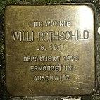 Stolperstein Obere Marktstraße 7, Willi Rothschild, Groß-Umstadt, Landkreis Darmstadt-Dieburg.jpg