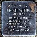 Stolperstein Solingen Wilzhaus 12 Ernst Wittke.jpg