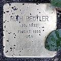 Stolperstein Theodor-Heuss-Platz 2 (Westend) Ruth Beutler.jpg