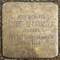 Stumbling block for Lotte Chocinski (Alexianerstraße 3)