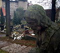 Stonehead in cemetery - panoramio.jpg