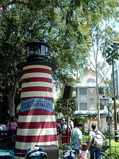 attraction at Disney theme parks