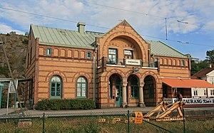 Strömstad - Image: Strömstad station