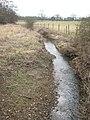 Stream towards Little Broxham - geograph.org.uk - 1755454.jpg