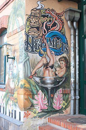 Innere Neustadt (Dresden) - Street art in Neustadt, Dresden