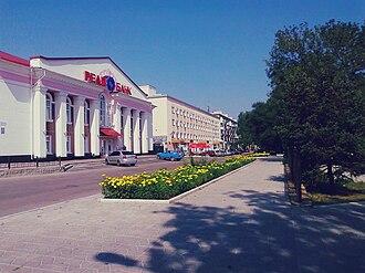 Lysychansk - Dovzhenka Str.